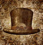 Steampunk Odgórny kapelusz Fotografia Stock