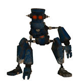 Steampunk old robot Royalty Free Stock Photos