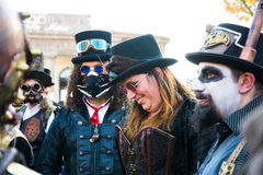 Steampunk people Royalty Free Stock Photos