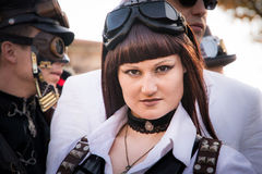 Steampunk people Stock Photography