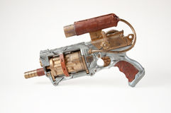 Steampunk pistolet Zdjęcia Royalty Free
