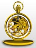Steampunk pocket watch royalty free illustration