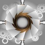 Steampunk rama Obrazy Royalty Free