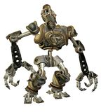 Steampunk Robot 1 Royalty Free Stock Image