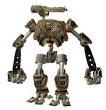 Steampunk robot 2 stock illustration