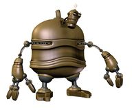 Steampunk robot 3 Royalty Free Stock Photo