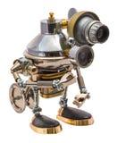 Steampunk robot Arkivfoto