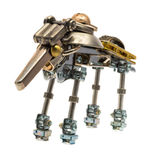 Steampunk robot. Stock Photography