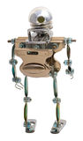 Steampunk robot. Stock Image