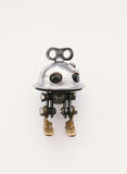 Steampunk robot Stock Photo