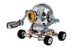 Steampunk-Roboter. Stockfotos