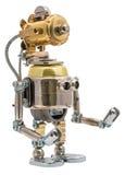 Steampunk Roboter Lizenzfreie Stockfotos