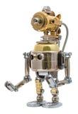 Steampunk Roboter Stockbild