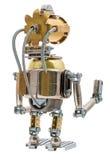 Steampunk Roboter Lizenzfreies Stockbild