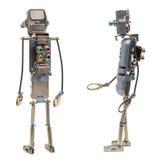 Steampunk Roboter Zwei Seiten Stockfoto