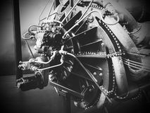 Steampunk Rocket Engine royalty free stock image