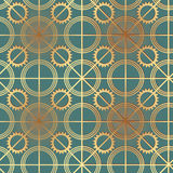 Steampunk  seamless ornament Royalty Free Stock Photo