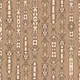 Steampunk seamless  pattern Stock Photos