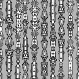 Steampunk seamless  pattern Royalty Free Stock Image