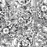 Steampunk seamless pattern Royalty Free Stock Images