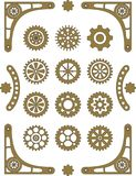 Steampunk set Stock Image