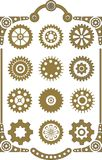 Steampunk set Royalty Free Stock Images