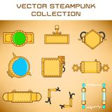 Steampunk set Royalty Free Stock Photography