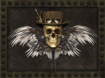 Steampunk Skull Royalty Free Stock Photos