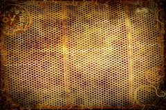 Steampunk steel Background. Steampunk background rendering with clocks gears and and old steel grating royalty free stock images