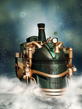 Steampunk style Royalty Free Stock Image