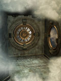 Steampunk style Stock Images