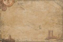 steampunk textuur Stock Afbeelding
