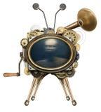 Steampunk TV Royaltyfri Foto