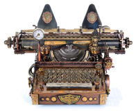 Steampunk Typewriter. Stock Image