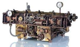 Steampunk Typewriter. Royalty Free Stock Photo