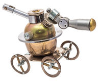 Steampunk vehicle. Stock Photography
