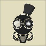 Steampunk - Vintage Character Design Stock Image