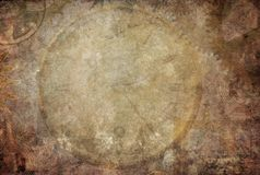 Steampunk Vintage Texture Background Stock Images