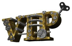 Steampunk vip Royalty Free Stock Photo