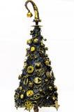 Steampunk Weihnachtsbaum Stockfoto
