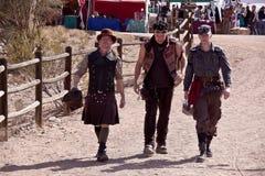 Steampunk Wild Wild West Con Stock Photo