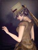 Steampunk woman Stock Photos