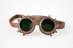 Steampunkbeschermende brillen Stock Foto