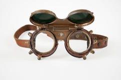 Steampunkbeschermende brillen Royalty-vrije Stock Afbeeldingen