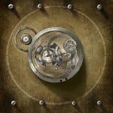 Steampunkcentrum Royalty-vrije Stock Afbeeldingen