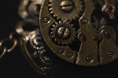Steampunkhalsband Royalty-vrije Stock Afbeelding
