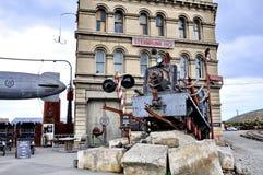 Steampunkhk, beeldt een industriële versie van steampunk af royalty-vrije stock foto