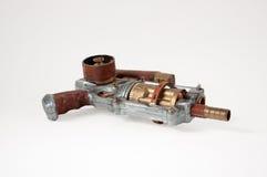 Steampunkkanon Royalty-vrije Stock Afbeelding