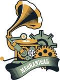 Steampunkmechanisme vector illustratie