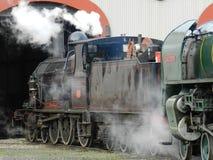 Steamranger of Mount Barker. Mt. Barker to Victor Harbour railway line, South Ustralia royalty free stock photos